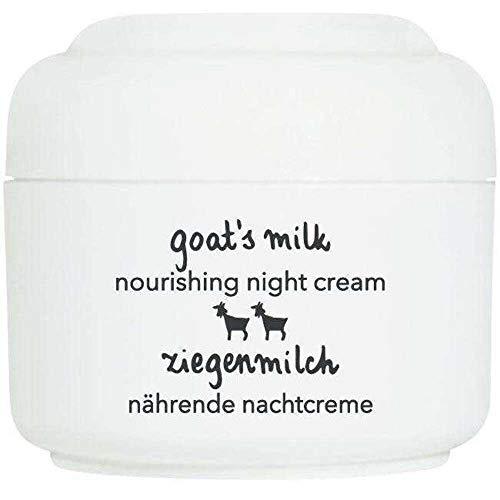 Ziaja Crema Notturna del Latte della Capra per la Pelle Secca - Pacco da 1 x 50 ml - Totale: 50 ml