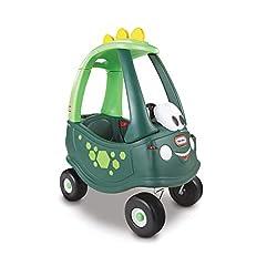 2. Little Tikes Dinosaur Cozy Coupe Dinosaur Ride-On