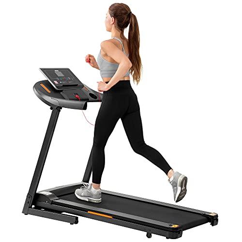 BTM Electric Treadmill Hydraulic Folding Motorized Running Machine for...