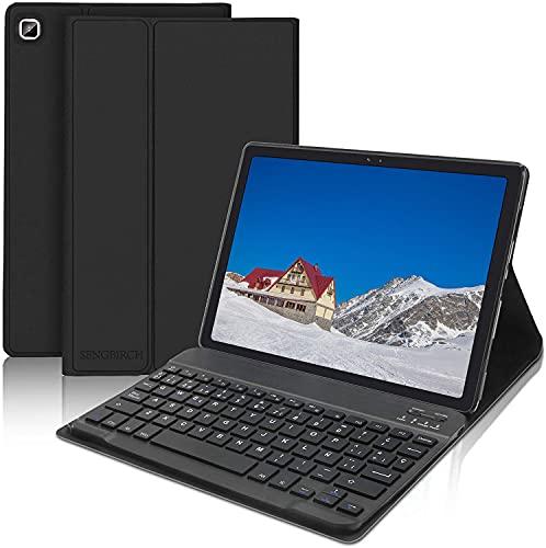 SENGBIRCH Teclado Funda para Samsung Galaxy Tab A7 10.4'2020 (SM-T505/T500/T507),...