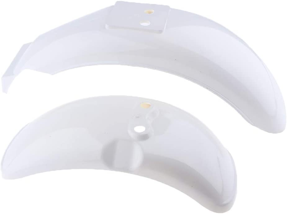 Mail order 2pcs Replacement Washington Mall White Front Rear Fenders Z50A Z Z50 Honda for