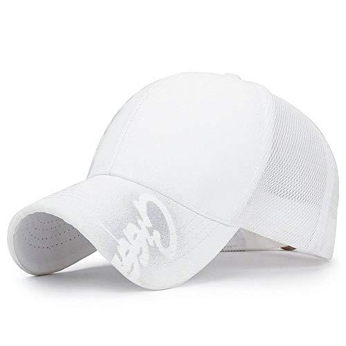 TRGFB baseballpet, zomer, mesh, baseballpet, brief spray, print, flash poeder, hystereshoed voor mannen vrouwen outdoor, zonwering, honkbalpet