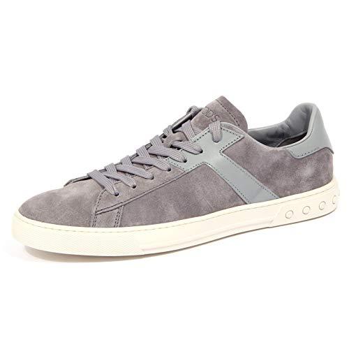 4190J Sneaker Uomo Grey Tod'S CASSETTA Sportivo Suede/Leather Shoe Man [10]
