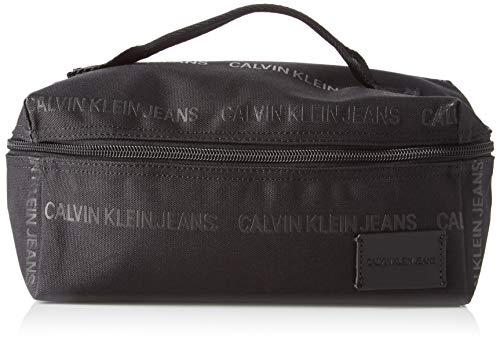Calvin Klein Herren Sport Essentials Washbag Schultertasche, Schwarz (Black), 12x24x12cm