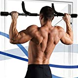 Comeon Pull Up Bar, Doorway Pull Up Sit Up Door Bar Portable Chin-Up for Upper Body Workout Home Fitness, No Screws Easy Installation