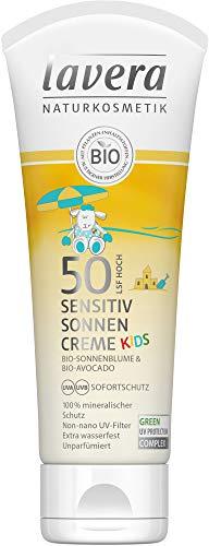 Lavera Bio Sensitiv Sonnencreme KIDS LSF 50, 75ml (2 x 75 ml)