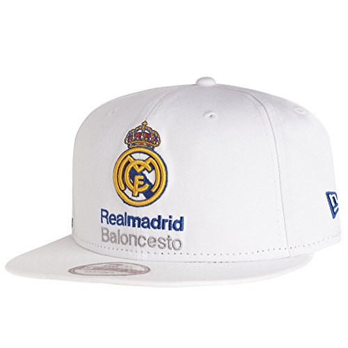 New Era Euroleague Real Madrid Snapback S/M white