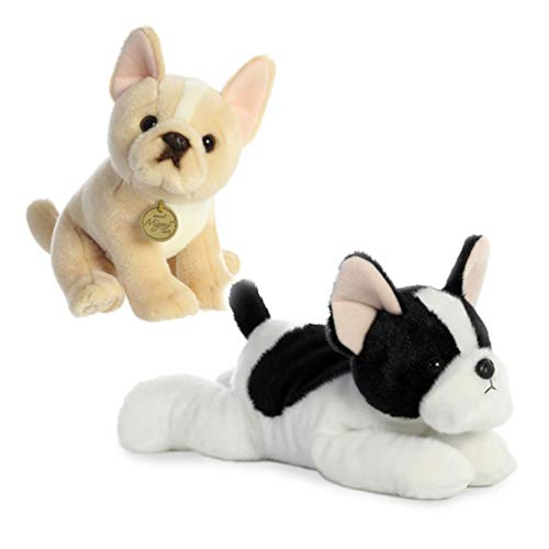 Beige and Black/ White French Bulldog Puppy Bundle, Gift for Bulldog Lovers