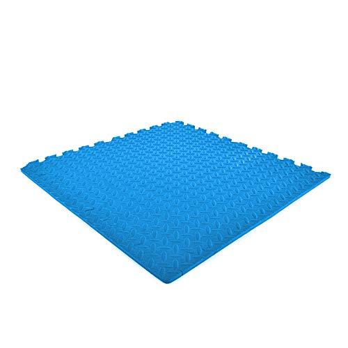 EVA-SCHAUM Puzzlematten blau 600x600x12mm (Set 4 St.)   Sportböden   Gummimatten