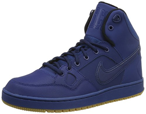 Nike Son Of Force Mid Winter Herren Turnschuhe, Blau, 39 EU