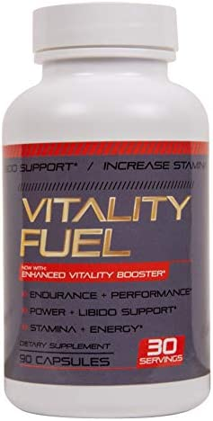 Vitality Fuel Performance Stamina Pills for Men Male Enhancement Formula Increase Energy Endurance product image