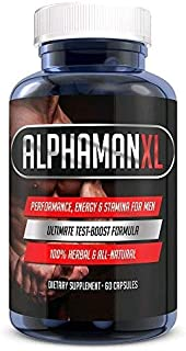 AlphaMAN XL Male Pills | – Enlargement Booster Increases Energy, Mood &..