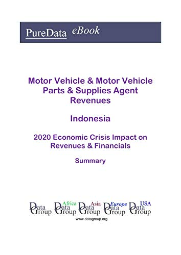 Motor Vehicle & Motor Vehicle Parts & Supplies Agent Revenues Indonesia Summary: 2020 Economic Crisis Impact on Revenues & Financials (English Edition)