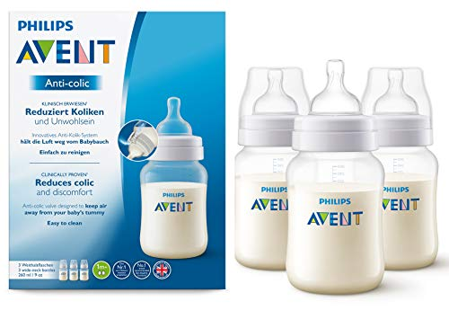 Philips AVENT SCF813/37 Anti-colic Flasche 260ml dreier, transparent