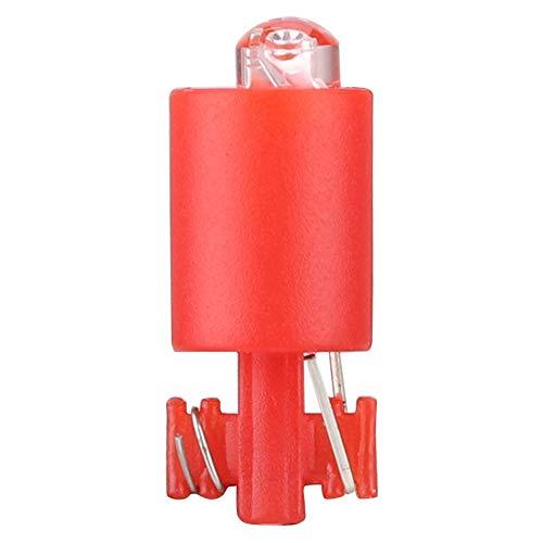 Lámpara Botón iluminado Luces Botón de juego iluminado para microinterruptor(red)