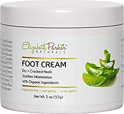 Foot Cream for Dry Cracked Feet and Heels - Anti Fungal Cream for Athletes Foot Treatment - Best Callus Remover for Feet with Shea Butter Aloe Vera & Coconut Oil - Fragrance Free & Non Greasy