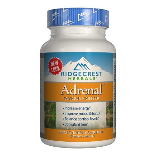RidgeCrest Herbals Adrenal Fatigue Fighter, Adaptogen Stress...