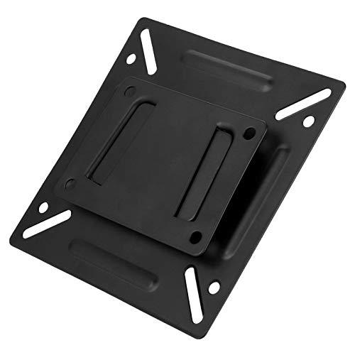 Rosvola Soporte para Monitor de Pared, Soporte sólido de aleación de Aluminio, Soporte de Montaje en Pared para TV, Duradero para el hogar, TV LCD de 14-32 Pulgadas, Color Negro