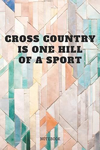 Notebook: Cross Country Runner Sport Open-Air Race Couching Planner / Organizer / Lined Notebook (6
