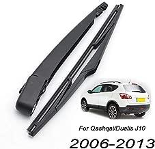 Xukey Rear Windshield Wiper Blade & Arm Set Fit For Nissan Qashqai J10 2007 2008 2009 2010 2011 2012 2013 (1 set)