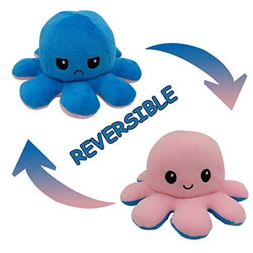LEEDY Cute Spielzeug Soft Plüschtier Baby Doppelseitige Flip Soft Reversible Plüsch Kuscheltiere Puppe