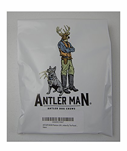 Antler Man Premium Jumbo Deer Antler Pieces - Dog Chews - Sold by The Pound