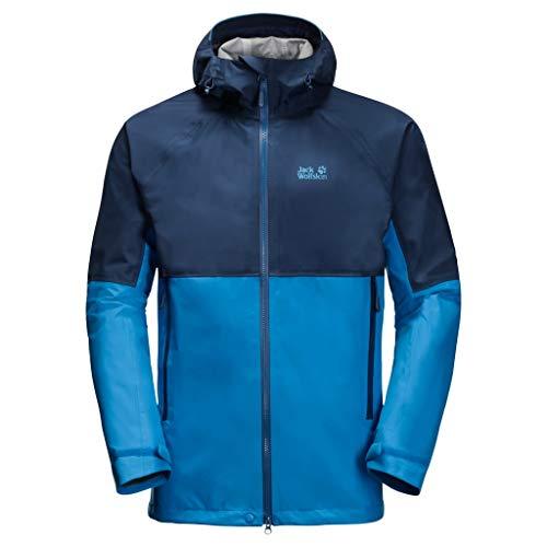 Jack Wolfskin Herren Kanuka Ridge Regenjacke, Brilliant Blue, XL