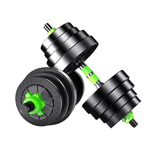 Dumbbells Juego de Mancuernas Kit de Entrenamiento con Pesas Equipo de Fitness para el hogar para Hombres Entrenamiento Muscular con Mancuernas
