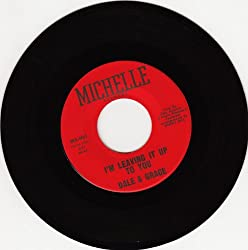 I'm Leaving It Up To You/Foolin Around (VG 45 rpm)