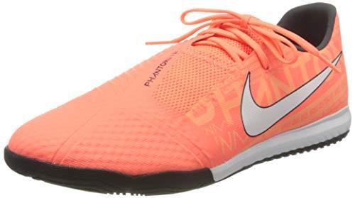 Nike Phantom VNM Academy IG - Botas de fútbol para Hombre, Color Naranja, Blanco y Negro, Talla 41 EU