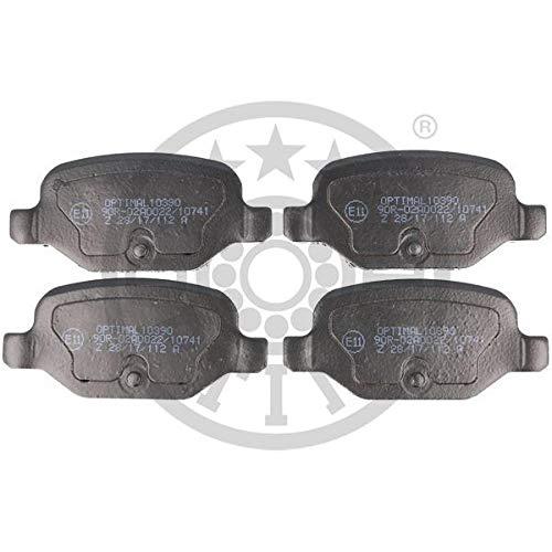 OPTIMAL Pastillas de freno BP-10390, freno de disco