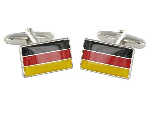 Grom boutons de manchette Drapeau de l'Allemagne