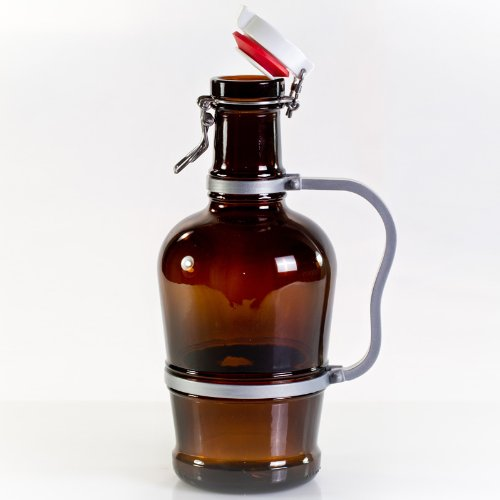 Nestor Biersiphon mit Metall-Henkel 2,0 Liter braun