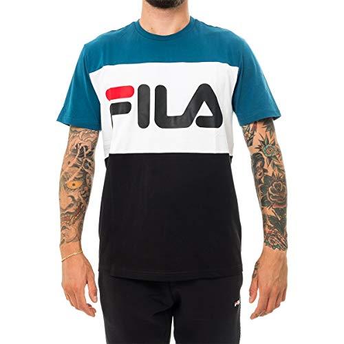 Fila T-Shirt UOMO Day tee 681244.A216 (S - A216 Black-Moroccan)