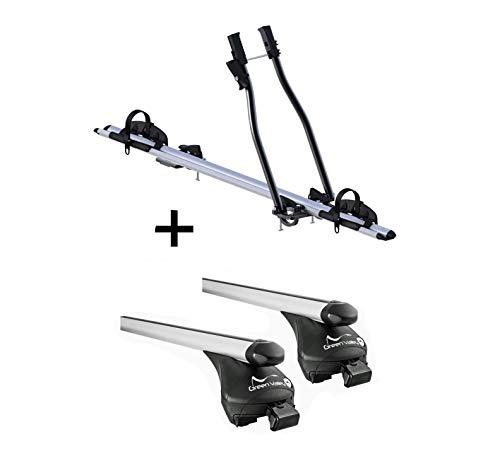 VDP fietsendrager SAGITTAR + raildrager Quick L compatibel met Peugeot 3008 vanaf 2016