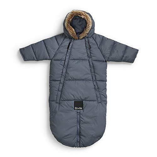 Elodie Details Schneeanzug Baby Overall für Winter - Tender Blue 6-12m, Blau