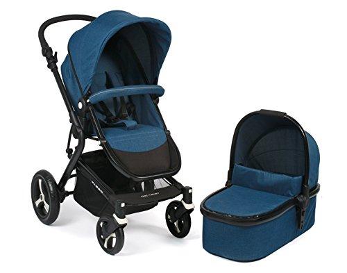 CHIC 4 BABY 163 36 Kombi-Kinderwagen Passo, melange blau