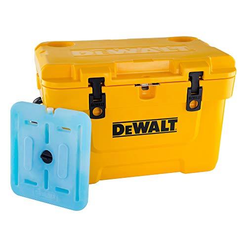 Dewalt DXC2501 25 Quart Roto-Molded Lunchbox Cooler/ 10 Quart Ice Pack Cooler Combo