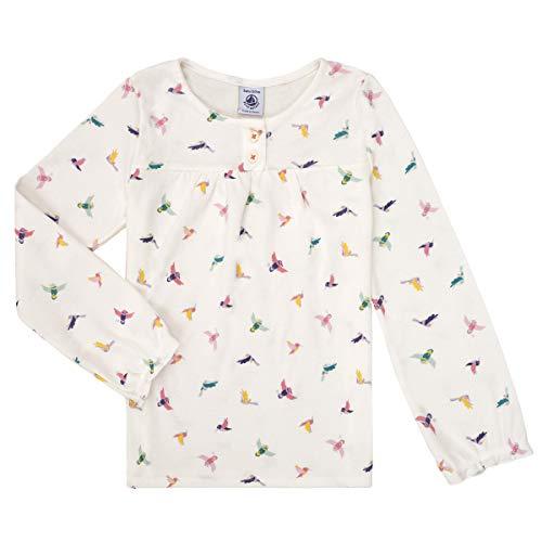 Petit Bateau 5589901 - Pijama para niña Marshmallow/Multicolor. 2 años