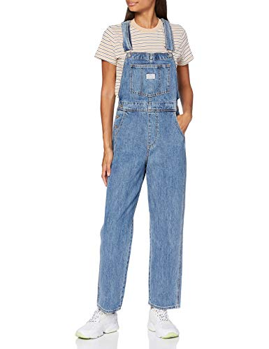 Levi's Womens Vintage Overall Pants, Dead Stone, S