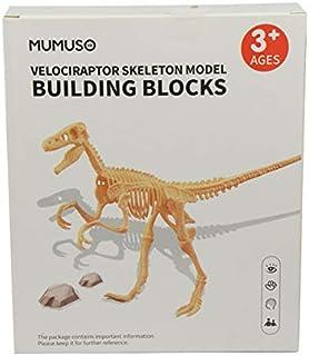 Mumuso Bloques DE CONSTRUCCION - Esqueleto Velociraptor