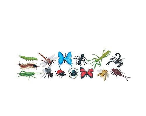 série de 12 chiffres insectes