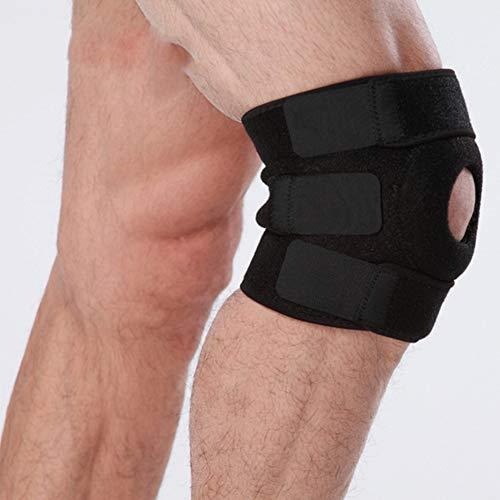 HYRL Rodilleras, Rodilleras, Rodilleras Ajustables, Almohadillas de rótula - para Artritis, menisco Rasgado, MCL, ACL, Baloncesto, Atletismo, esguinces, tendinitis, Deportes