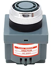 Zumbador de tipo electromagnético HRB-PS30, zumbador de alarma industrial de alta potencia 220V 80dB 50Hz