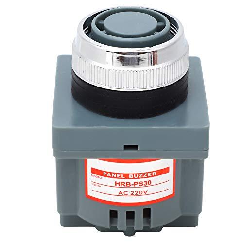HRB-PS30 Zumbador de tipo electromagnético, zumbador de alarma industrial, alta potencia 80dB 50Hz(AC 220V)