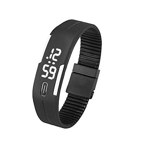 Herren Damen LED Uhren Datum Sport Gummi Armband Digitale Wasserdicht Männer Frauen Armbanduhr Uhr Geschenk Groveerble