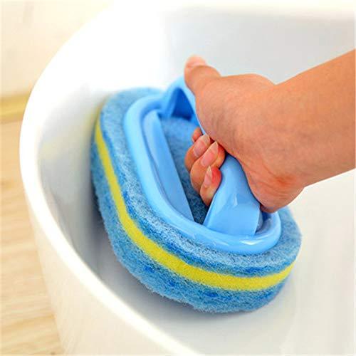 CYONGYOU Keuken schoonmaken badkamer toilet keuken glazen wand schoonmaken badkuip borstel kunststof handvat spons badkuip bodem badborstel