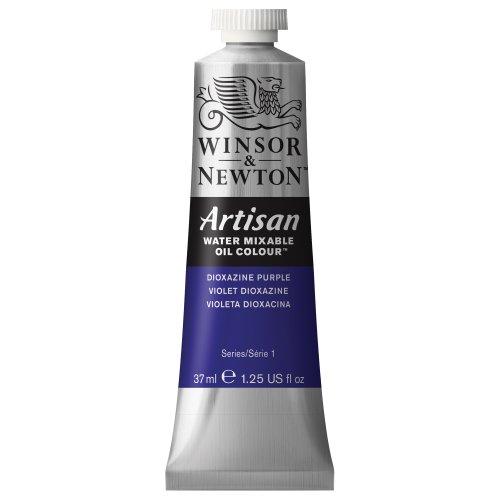 Winsor & Newton Artisan Water Mixable Oil Colour, 37-ml Tube, Dioxazine Purple