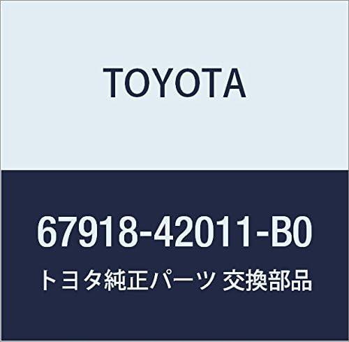 TOYOTA Max 57% OFF Genuine 67918-42011-B0 Plate Scuff Financial sales sale Door
