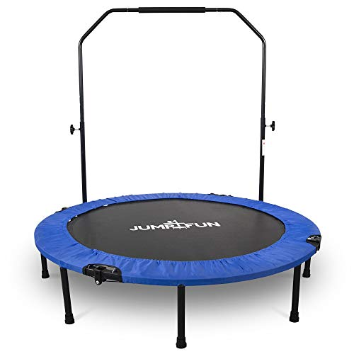 Mini Cama Elástica - Trampolín Fitness Jump4fun Plegable Doble-Barra